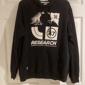LRG brand men's logo hoodie size large